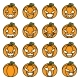 Lineart Halloween Pumpkin Decoration Scary Faces - GraphicRiver Item for Sale