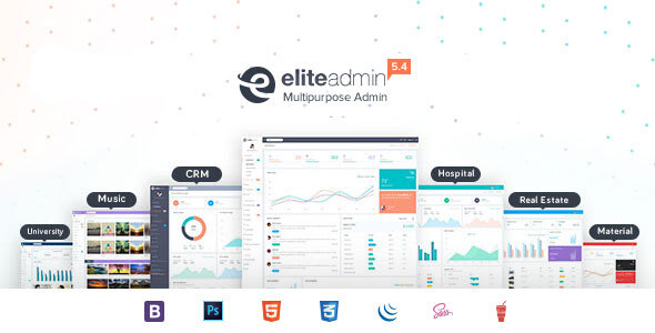 Elite Admin - Bootstrap 4 Dashboard template