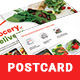 Grocery Delivery Postcard Template - GraphicRiver Item for Sale
