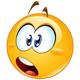 Shocked Emoticon - GraphicRiver Item for Sale