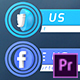 Social Media Lower Thirds | For Premiere Pro