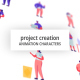 Project Creation - Character Set - VideoHive Item for Sale