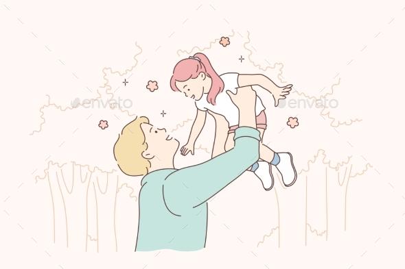 Fatherhood Game Concept