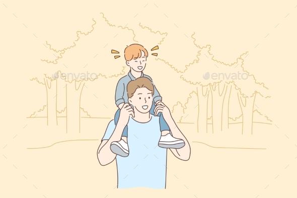 Fatherhood Walking