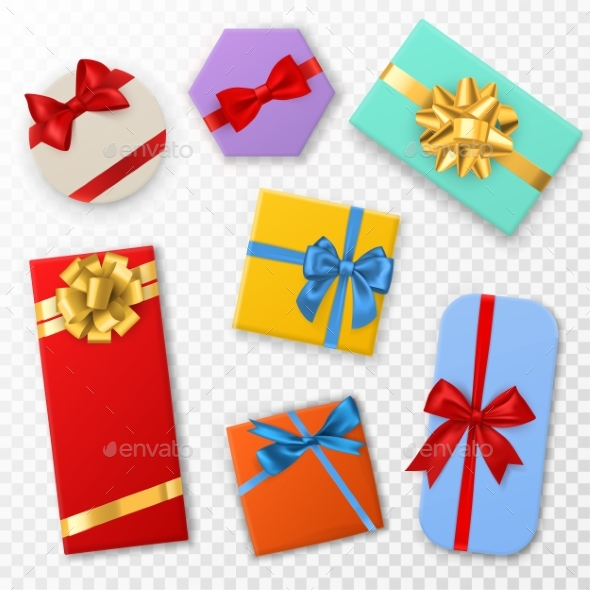 Gift Box with Bows