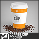 8oz Coffee Cup Mock-Up - GraphicRiver Item for Sale