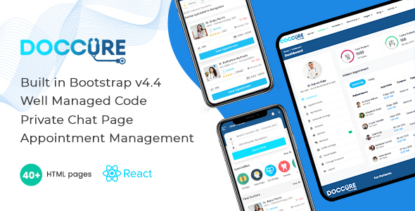 Review: Doccure - Doctor Appointment Booking ReactJS Template (Practo Clone) free download Review: Doccure - Doctor Appointment Booking ReactJS Template (Practo Clone) nulled Review: Doccure - Doctor Appointment Booking ReactJS Template (Practo Clone)