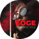 Edge Cinematic Titles - VideoHive Item for Sale