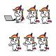 Unicorn Illustration for WordPress Mascot - GraphicRiver Item for Sale