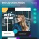 Fashion Social Media Kit Instagram Facebook Sales Post Feed V3 - GraphicRiver Item for Sale