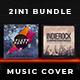 2in1 Music Album Cover - Bundle 15 - GraphicRiver Item for Sale