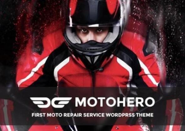 MotoHero | Motorcycle Repair & Custom service Business Wordpress Theme