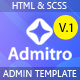 Admitro - Dashboard HTML Template - ThemeForest Item for Sale