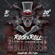 Rock & Roll Halloween Vampire Version - GraphicRiver Item for Sale