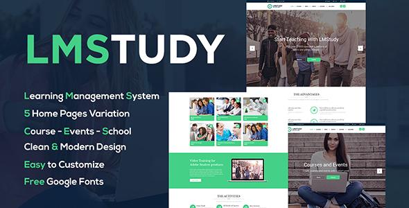 LMStudy - Education LMS WooCommerce Theme