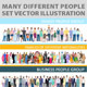 People's Companies, Business, Family, Group Nationality. - GraphicRiver Item for Sale
