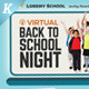 Virtual Back to School Night Flyer Templates - GraphicRiver Item for Sale