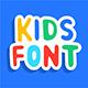 Kids font - GraphicRiver Item for Sale