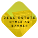 Animated HTML5 Real Estate Ad Banners Template - CodeCanyon Item for Sale