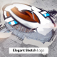 Elegant Sketch Logo Reveal - VideoHive Item for Sale