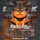Rock & Roll Halloween Pumpkin Version - GraphicRiver Item for Sale