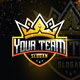 Esport Gold Crown logo for Team - GraphicRiver Item for Sale