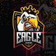 Awesome Eagle Esport Logo Gaming - GraphicRiver Item for Sale