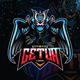 Assassin Esport Logo With The Wing for Gaming - GraphicRiver Item for Sale