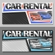 Vector Layouts for Car Rental - GraphicRiver Item for Sale