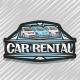 Vector Logo for Car Rental - GraphicRiver Item for Sale
