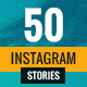 50 Instagram Stories Banners - GraphicRiver Item for Sale