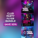 Club Party Flyers Bundle - GraphicRiver Item for Sale