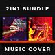 2in1 Music Album Cover - Bundle 14 - GraphicRiver Item for Sale