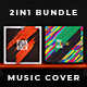 2in1 Music Album Cover - Bundle 16 - GraphicRiver Item for Sale
