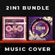 2in1 Music Album Cover - Bundle 17 - GraphicRiver Item for Sale