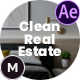 Clean Real Estate - VideoHive Item for Sale