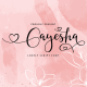 Gayesha - Lovely Script - GraphicRiver Item for Sale
