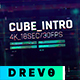 Cube Intro/ Glitch Opener/ Game Tournament/ Cyber Sport/ Hi-Tech HUD/ Streamer/ Youtube Techno Blog - VideoHive Item for Sale