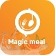 Magic Meal - Organic Food Delivery Application UI kit - ThemeForest Item for Sale