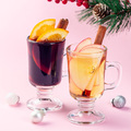 Red and white glogg or mulled wine, Christmas decoration - PhotoDune Item for Sale