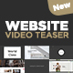 New Website Video Teaser - VideoHive Item for Sale
