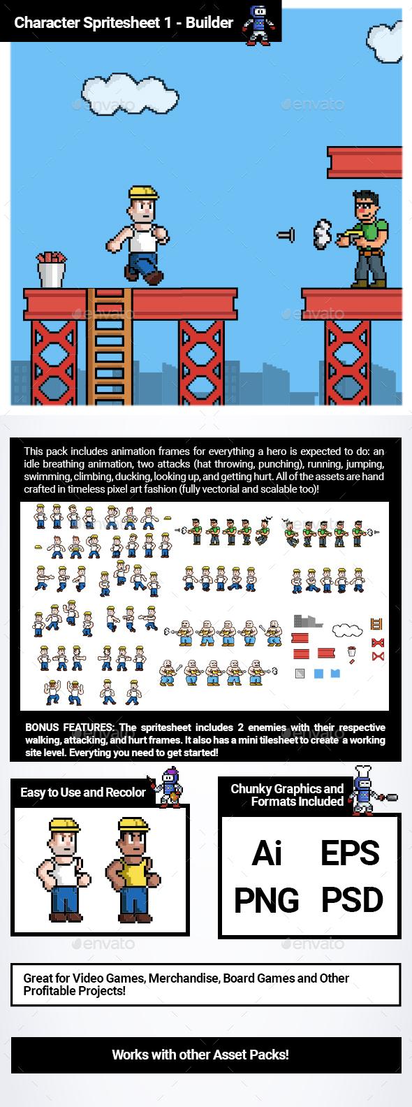 Pixel Art Sprite Sheet Game Sprites Sheet Templates