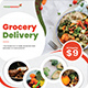 Grocery Delivery Flyer - GraphicRiver Item for Sale