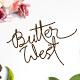 Butter West | Signature Script Font - GraphicRiver Item for Sale