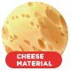 Cheese material .Redshift scenes included - 3DOcean Item for Sale