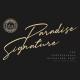 Paradise Signature Font - GraphicRiver Item for Sale