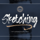 Sketching – The Handbrushed Typeface - GraphicRiver Item for Sale
