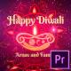 Diwali Festival Wishes MOGRT - VideoHive Item for Sale