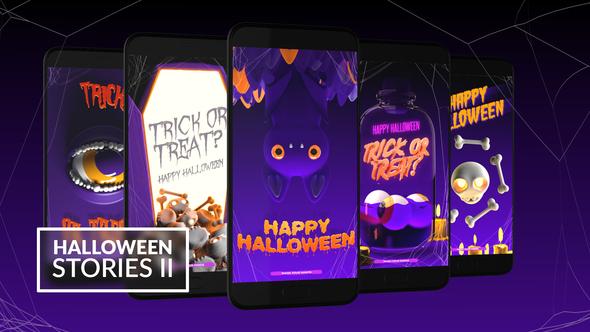 Halloween Instagram Stories II