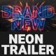 Cinematic Neon Trailer Teaser - VideoHive Item for Sale